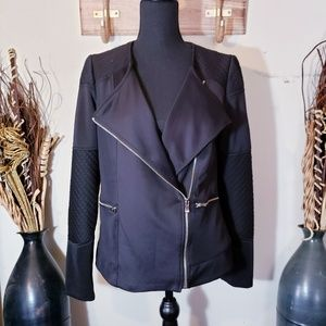 NY Collection black blazer jacket Small